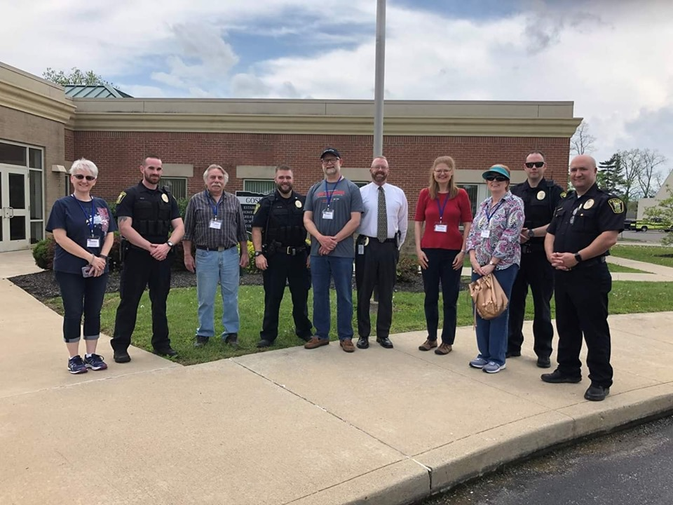National Day of Prayer with Goshen Police Dept.