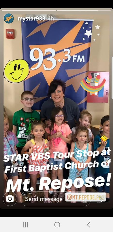 Star933 VBS Kick off